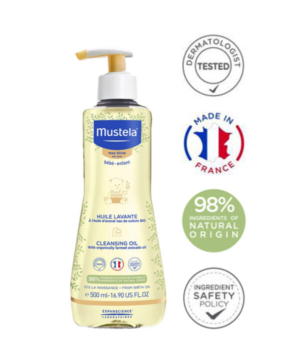 Mustela Baby-Child Cleansing Oil Dry Skin