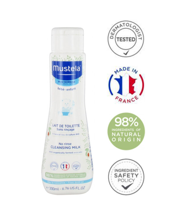 Mustela Cleansing Milk Without Rinse